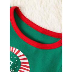 Papai Noel Carta Impressão Família Combinando Natal Pijama