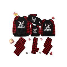 List Wydrukować Rodzinne Dopasowanie Świąteczne piżamy