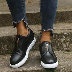 Frauen PU Hochgeschnittene Turnschuhe mit Andere Schuhe