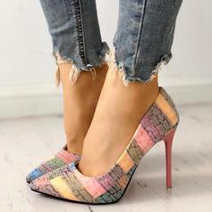Kvinnor PU Stilettklack Stängt Toe med Andra skor