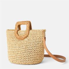 Elegant/Classical/Vintga/Bohemian Style/Braided Tote Bags/Shoulder Bags/Beach Bags