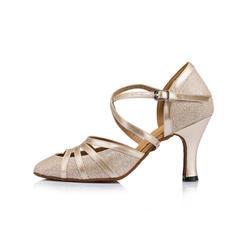 Női Bálterem Sarok Magassarkú Műbőr -Val Boka szalag Alkalmi cipők