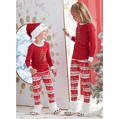 Letter Familie matchende Jule Pyjamas