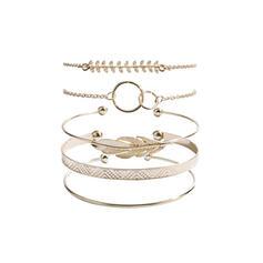 Wyjątkowy Znakomity Szykowny Stop Zestawy biżuterii Bransoletki Biżuteria plażowa (Zestaw 5 par)