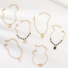 Stylish Alloy Jewelry Sets Bracelets (Set of 6)