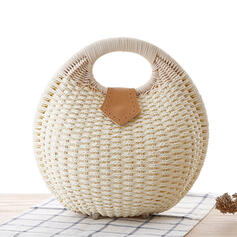 Élégante/Charme/Style bohémien/Tressé Pochettes/Sacs fourre-tout/Bolsas de cubo/Sac de rangement