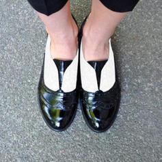 Kvinner PU Lav Hæl Pumps med Annet sko