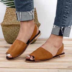 Pentru Femei PU Fară Toc Sandale Balerini Puţin decupat în faţă cu Altele pantofi