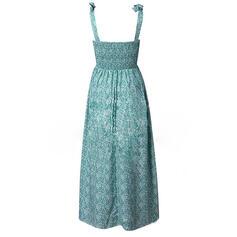 Nadrukowana Bez rękawów W kształcie litery A Łyżwiaż Casual/Wakacyjna Maxi Sukienki