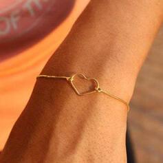 Hjerte Valentins Dag Legering Ladies ' Pigens Armbånd Strand smykker