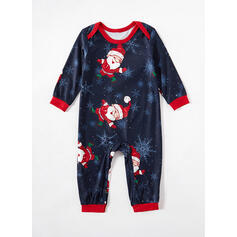 Nisse Cartoon Familie matchende Jule Pyjamas