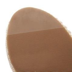 Pentru Femei Imitaţie de Piele Platforme Înalte Sandale cu Ştrasuri pantofi
