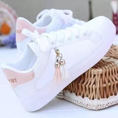 De mujer PU Casual al aire libre con Cordones Borla zapatos