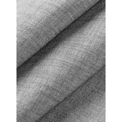 Sólido Manga 3/4 Shift Comprimento do joelho Casual Túnica Vestidos
