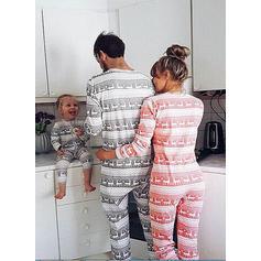 Reno Familia a juego Pijamas De Navidad