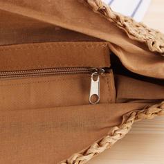 Moda/şeritlenmiş Polyester Omuz çantaları/Plaj Çantaları