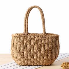 Vintage/Einfache Tragetaschen/Strandtaschen