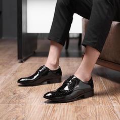 Mænd Latin Moderne stil Fladsko Microfiber Læder Modern