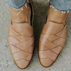 Pentru Femei PU călcâi plat Balerini cu Altele pantofi