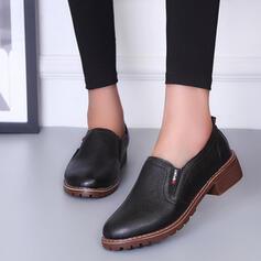 Kvinnor PU Pumps Klackar med Andra skor