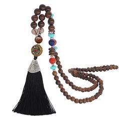 Modern Exotisk Klassisk stil Legering Trä Pärlor Kvinnor Mode Halsband