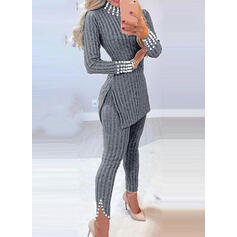 Solid Sexy Skinny Suits