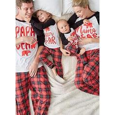 Xadrez Estampado Família Combinando Natal Pijama