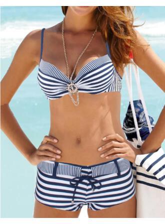 нашивка Зашнуровать Ремень V шеи классический Bikinis купальников
