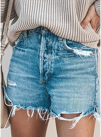 Tassel Casual Sexy Shorts