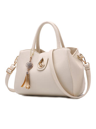 Elegant/Klassieke/Effen kleur Tote tassen/Crossbody Tassen/Boston Bags