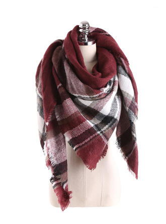 Plaid/Retro/Vintage/Print fashion/Comfortable Scarf