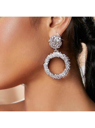Geometric Alloy Women's Earrings 2 PCS