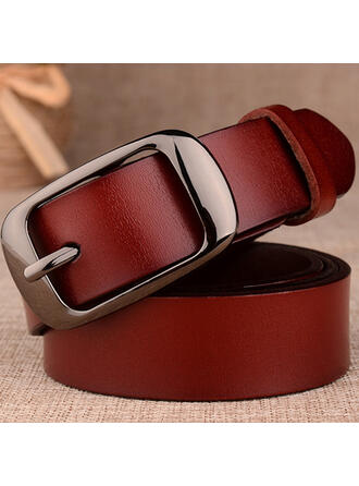 Stylish Attractive Charming Pretty Elegant Delicate Luxurious Cow Leather Women's Belts