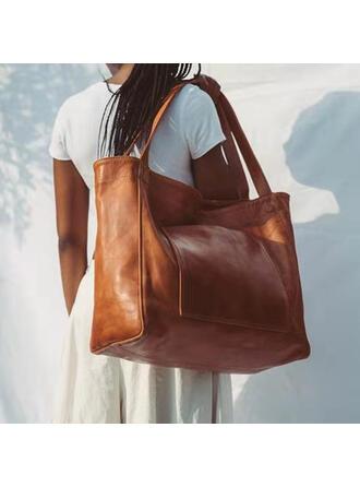марочный/простой Большие сумки/Наплечные сумки
