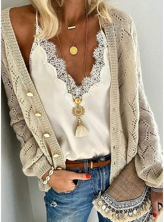 Solid Grafic Cardigan