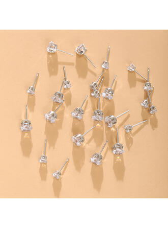 Shining Alloy With Rhinestones Women's Ladies' Earrings