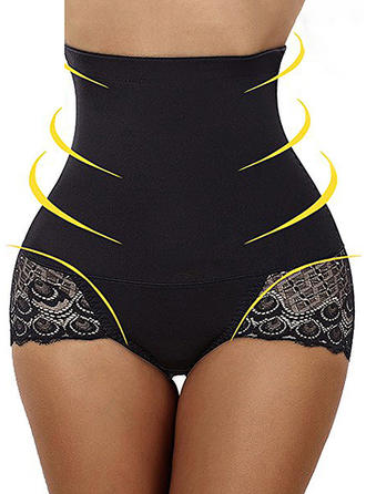 Polyester Cotton Lace Shapewear