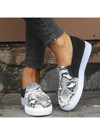 Women's PU With Animal Print shoes