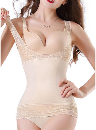Nylon Solid color Shapewear