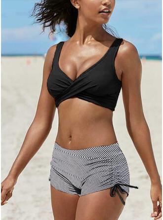 нашивка Ремень V шеи Повседневная утонченный Bikinis купальников