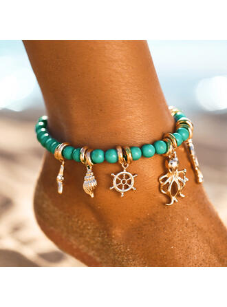 Rece Boho Aliaj margele Femei Plajă bijuterii sori