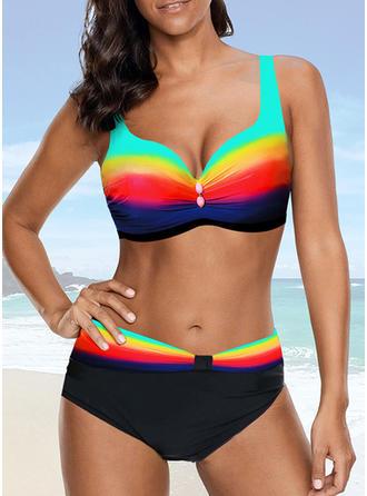 Barva spoje Na ramínka Sexy Bikiny Costume de baie