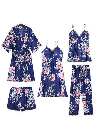 Polyester Nuisette Ensemble pyjama
