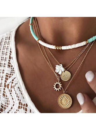 rafinat Charming Aliaj coliere Plajă bijuterii