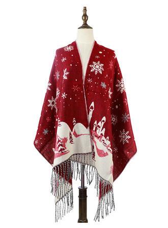 Ciucure/Crăciun modă/Multi-funcțional/Crăciun Eșarfă/Şal