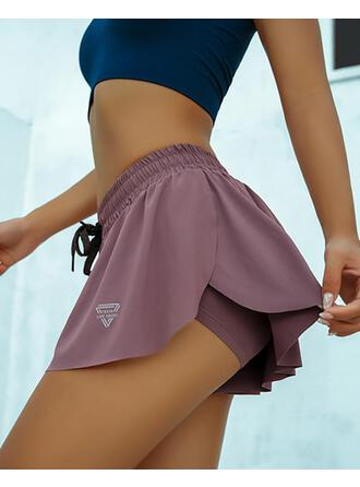 Print Casual Sexy Sporty Shorts