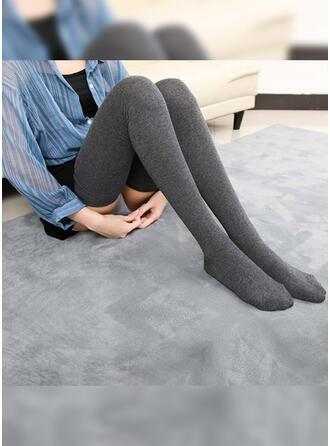 Ensfarget Komfortabel/kvinner Sokker/Strømper