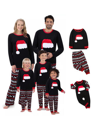Reinsdyr Print Familie matchende Jule Pyjamas
