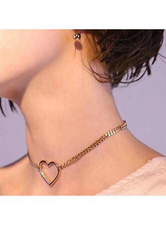 просто сплав с Сердце Женский Ожерелья 1 ПК