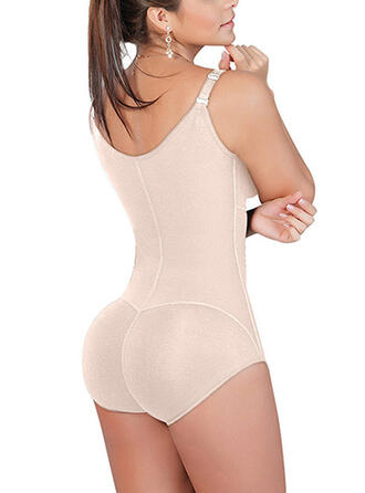 Polyester Elasthan Solid color Shapewear
